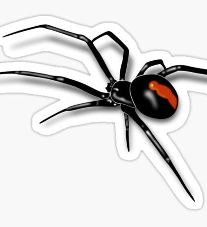 Redback Spider Black Widow Sticker