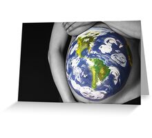 Mother Earth Greeting Card