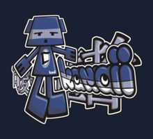 Cubist Mascot Tag One Piece - Long Sleeve