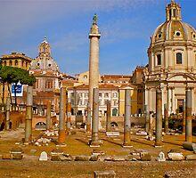 Trajans Forum by Hughsey