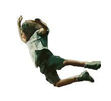 Eddie's Jump - Best stage dive ever Photographic Print