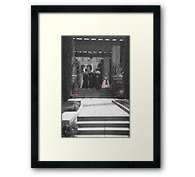 Bride in Waiting Framed Print