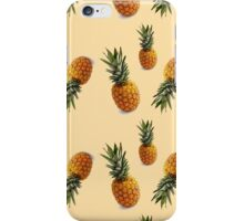 hipster summer girly cute pineapple pattern iPhone Case/Skin