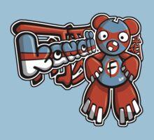 Freak Mascot Tag Kids Tee