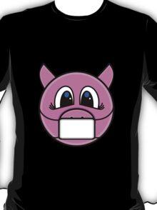 Cautious Piggy T-Shirt