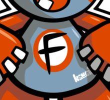 Freak Mascot Sticker