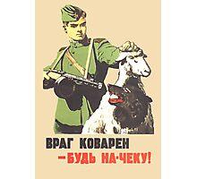 WW2 Soviet Poster Photographic Print