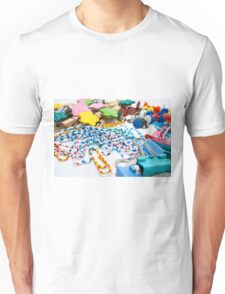 Colourful Office Tools Unisex T-Shirt