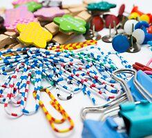 Colourful Office Tools by encikkopio