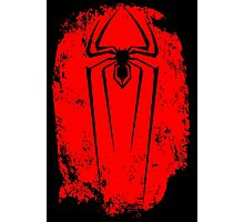 Black Spider Photographic Print