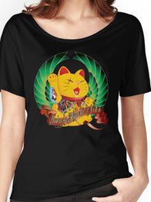 Yakuza Maneki Neko Women's Relaxed Fit T-Shirt