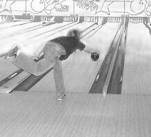 Bowling: Escher Style by Parska