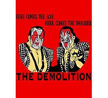 WWF Tag Team - Demolition! Photographic Print