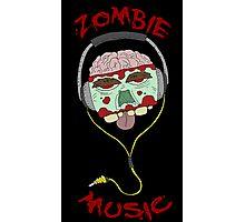 zombie music 4 print... Photographic Print