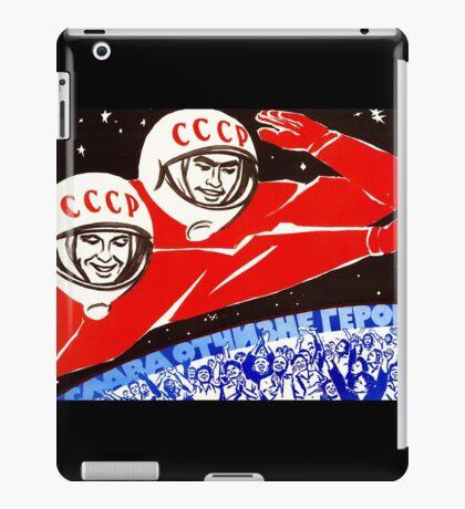 Soviet Space Poster iPad Case/Skin
