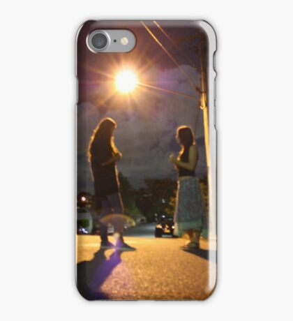 Night Life - Two Girls iPhone Case/Skin