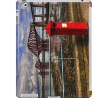 The Post Box on the Promenade iPad Case/Skin