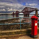 The Post Box on the Promenade by Tom Gomez
