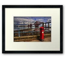 The Post Box on the Promenade Framed Print