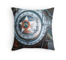 No.28 in the Shed Throw Pillow
