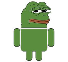 Android Frog by xxcrippledxx