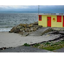 Beach Shop at Salthill Photographic Print