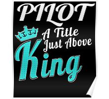 PILOT A TITLE JUST ABOVE KING Poster
