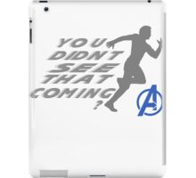 Quicksilver in Avengers iPad Case/Skin