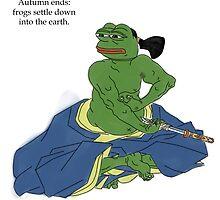 Samurai Frog by Anon Hanon