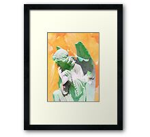 To Kneel In Your Presence Framed Print