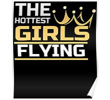 THE HOTTEST GIRLS FLYING Poster
