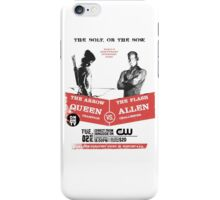 Arrow vs Flash TV shows iPhone Case/Skin