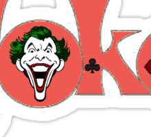 The Joker Logo Sticker