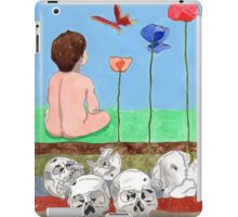 The forgotten tragedy iPad Case/Skin