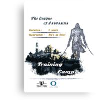The League of Assassins Canvas Print