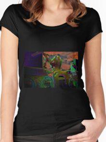 Octopus's Garden Women's Fitted Scoop T-Shirt