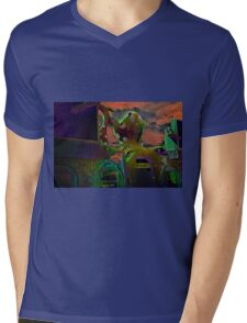 Octopus's Garden Mens V-Neck T-Shirt