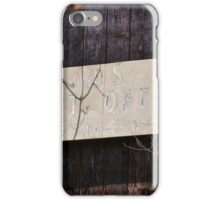 Old Pine Hall Post Office iPhone Case/Skin