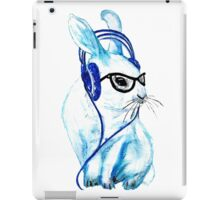 Headphones Bunny iPad Case/Skin