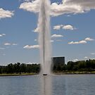 Captain Cook Memorial Fountain, Canberra Australia by Patty Boyte
