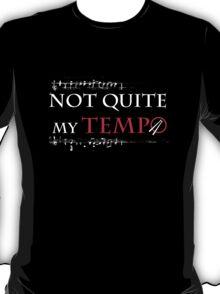 Whiplash - Not quite my tempo dark T-Shirt