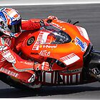Casey Stoner at MG - Moto GP 2008 by Mirko Mujica