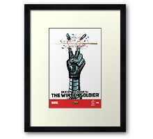 Bucky Barnes | The Winter Soldier  Framed Print