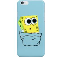 Spongebob in the pocket iPhone Case/Skin