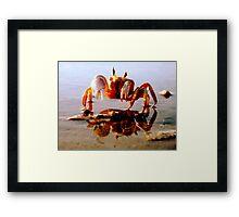 I'm Crabby Framed Print