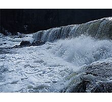 I dare you to jump in, Aysgarth Falls Photographic Print