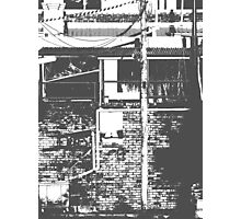 Alley Notes Photographic Print