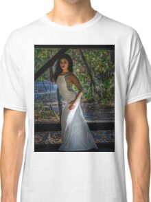 Lady in the woods Classic T-Shirt