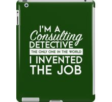 Sherlock - Consulting detective iPad Case/Skin