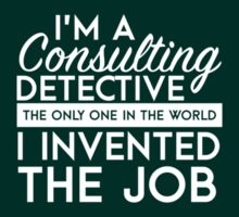 Sherlock - Consulting detective by televisiontees